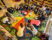 Pici Maci Muzsika – zenés baba – mama foglalkozás az Erkel Ferenc Művelődési Központban