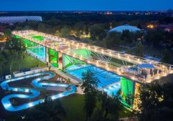 Családi felderítő akcióban az Imami: milyen Debrecen új strandja?