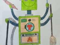 A jövő robotjai – Rajzpályázat iskolásoknak