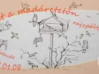 Élet a madáretetőn – rajzpályázat